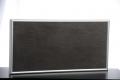 Elbo-therm Stein-Infrarot-Heizung, Dekor GEPARDI BASALTINA, mit Alurahmen silber oder schwarz, 30 x 60 cm, 200 W